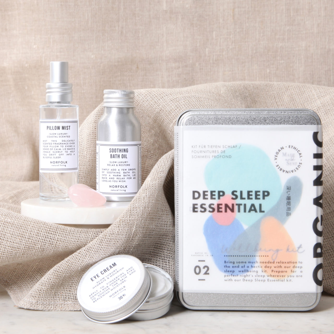 deep essential well being kit